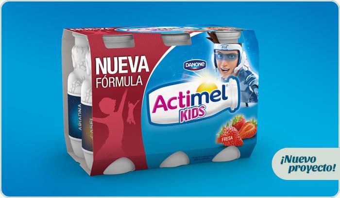 Nuevo proyecto: Actimel Kids