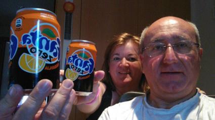 Compartiendo buenos momentos con Fanta Zero Naranja