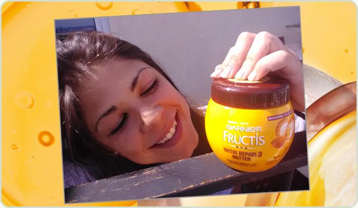 La bopki Xandry182 y su mascarilla Fructis Nutri Repair 3 Butter