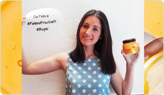La gran ganadora del concurso con Garnier Fructis es la bopki anmolinac, ¡enhorabuena!