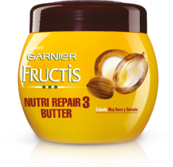 Mascarilla Fructis Nutri Repair 3 Butter