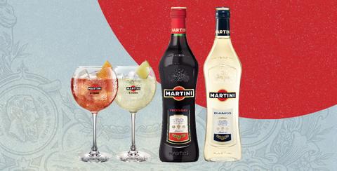 MARTINI®&TONIC, la combinación de vermouth Martini y tónica para el aperitivo fresco y fácil de preparar