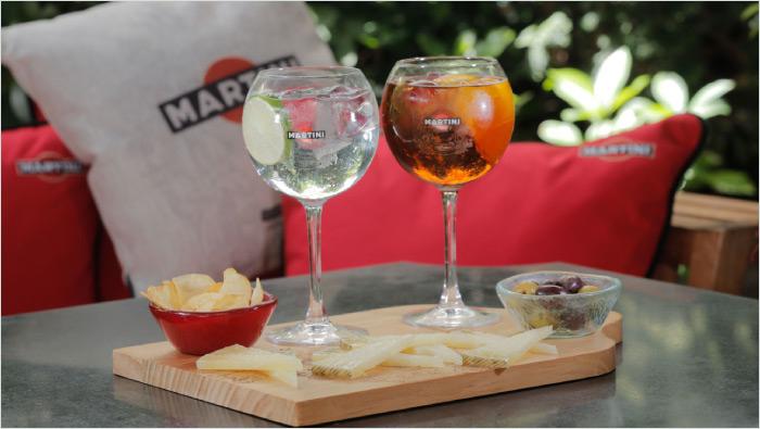 MARTINI®&TONIC es la nueva manera de disfrutar de un aperitivo moderno…