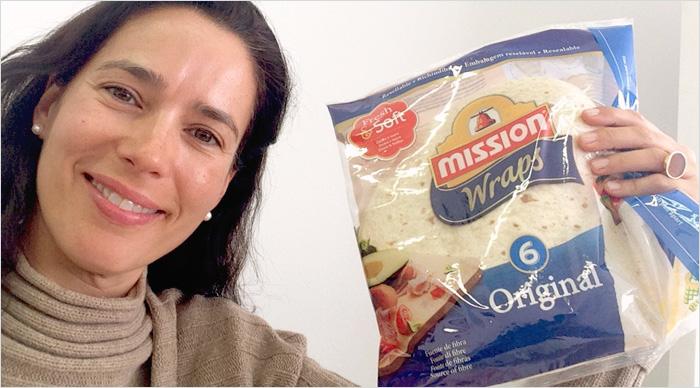 La bienvenida de Rosana de Mission Wraps.