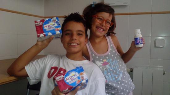 Sonrisa Actimel Kids tegracia