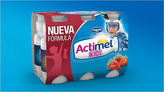 … ideal para los niños porque es fácil de beber y fácil de llevar, gracias a su envase.