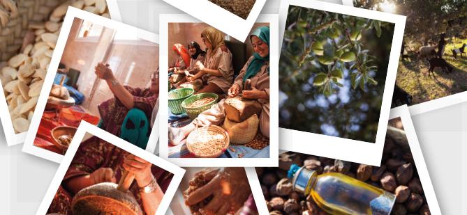 … inspirado en los rituales tradicionales de belleza bereberes…