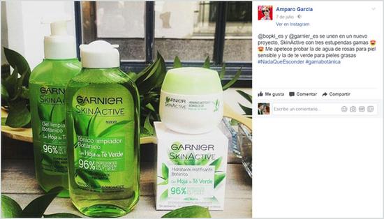 La bopki Amparotito ha compartido en Facebook el proyecto SkinActive