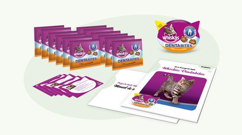 Pack de inicio Whiskas Dentabites